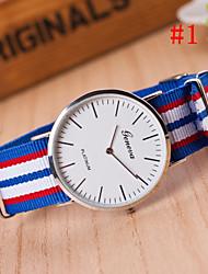 Men's Watch Fashion Watch Simple Style Silver Round Dial Wrist Watch Cool Watch Unique Watch
