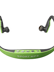 moda stereo headset deporte reproductor de música mp3 del auricular micro para la ranura SD TF para el jugador samsung iphone