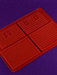 DIY Silicone Cake Mold Chocolate Mold   Random Color