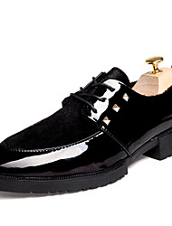 Men's High Quality Lace-up Leather Dress Shoes for Party/Office/Wedding