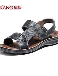 Aokang® Men's Leather Sandals - 611723008