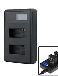 Accessoires pour GoPro, Chargeur LED, Pour-Caméra d'action, Gopro Hero 2 Gopro Hero 3 Gopro Hero 3+ Plastique