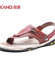 Aokang® Men's Leather Sandals - 141723033