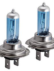 10 x h7 voiture blanche tête de phare lampe ampoules 12v