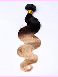 Ombre Peruanisches Haar Große Wellen 12 Monate 1 Stück Haar webt