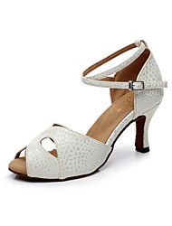 Женская обувь - Кожа - Номера Настраиваемый ( Белый ) - Латино
