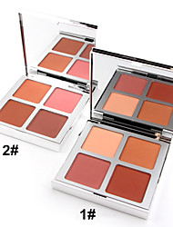 New Makeup Blusher Palette Dark Beauty Face Blush Powder Set (Assorted Color)