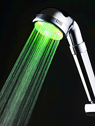 Green Color Kitchen Sink Universal Adapter LED Faucet Nozzle (Monochrome)(Boost Can Be Closed)