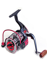 Катушки для спиннинга Спиннинговые катушки 4.9:1 10 Шариковые подшипники Заменяемый Морское рыболовство - EF3000 Fulang