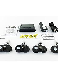 espião tecnologia poder de pressão dos pneus a segurança do sistema de alarme carro solar interno monitor com mostrador numérico do painel