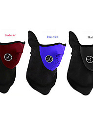 Cycling Mask / Neck Warmer Warm Bicycle Bike Riding Mask Black