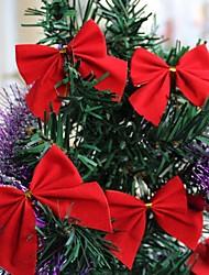 12 PCS 5CM Bowknot Christmas Trees Decoration