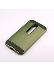 For Motorola Case Shockproof Case Back Cover Case Armor Hard PC for Motorola MOTO G4 / Moto G4 Plus