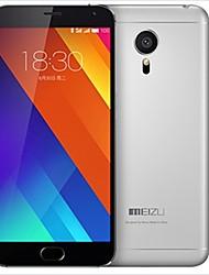 """MEIZU MX5 5.5 """" Android 5.0 Smartphone 4G (Dual SIM Huit Cœurs 20.7MP 3GB + 16 GB Argenté)"""