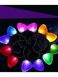LED Lighting Mikey Shape Hair Headband for Wedding Party Decoration (Random Color)