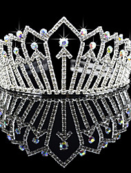 Gorgeous Alloy With Czech Rhinestones Wedding Tiara