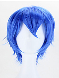 cosplay de style chaud vague bleue sythetic perruques cheveux
