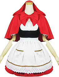 Little Red Riding Hood Polyester Maid Costume
