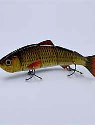 5 Inch 18 Gram Hard Body Metal Jointed Segment Fishing Lure Life Like Swimbait for Fishing Pesca