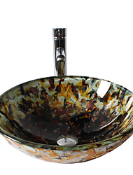 Modern - Badkamer Wastafel Set - Gehard Glas - Gehard Glas