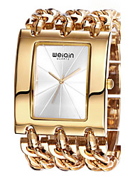 Mulheres Relógio de Moda Bracele Relógio Quartzo Impermeável Lega Banda Vintage Bracelete Elegantes Luxuoso Prata Dourada Ouro Rose# 4 #