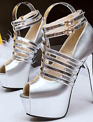 Women's Shoes Fleece Low Heel Heels / Peep Toe Sandals Casual Black / Gold / Tan / Bone