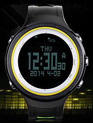 Da donna Orologio da polso DigitaleLCD / Altimetro / Compass / Termometri / Calendario / Cronografo / Resistente all'acqua / Due fusi