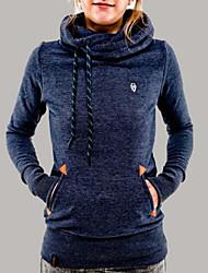 Informeel / Zakelijk Trui met capuchon - VROUWEN - Truien en hoodies ( Polyester )met Lange Mouw
