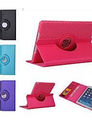 360 cas rotation étui en cuir de TPU Smart Cover iPad mini3 flip avec la fonction de support pour iPad mini-4 (de couleur assortie)