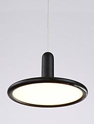 Lustres Luzes Pingente ,  Contemprâneo Tradicional/Clássico Bateria Pintura Característica for LED MetalSala de Estar Quarto Sala de