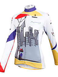 ilpaladinoSport Women Long sleeve Cycling Jersey New Style    CX601 await  100% Polyester