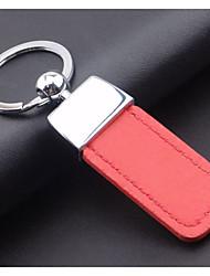 Men's high-grade PU leather key chain car key chain