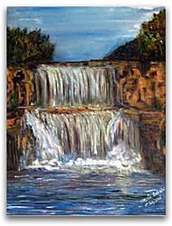 iarts®landscape красивый водопад маслом на холсте стены искусства для гостиной