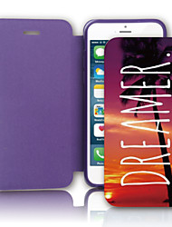 In Dreams PU Leather Case with Screen Protector and USB Cable and Stylus for iPhone 5/5S
