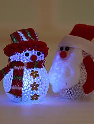 2015 elektronische LED-Weihnachtsschneemann-