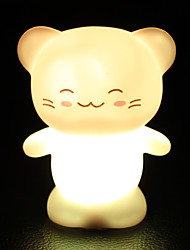 6.5*6.5*8CM Christmas  Lovely Small Colorful Happy Cat Can Household Decorative The Lantern Festival Light LED Lamp