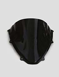 Black Motorcycle Windshield Windscreen for Suzuki GSXR 600 750 2006 2007