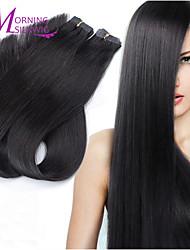 100g fita 5a na pele trama remy brasileiras extensões de cabelo humano 100% remy virgem brasileiro do cabelo humano direto