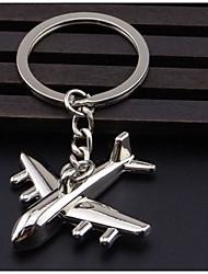 Metal aviation aircraft Keychain