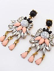 European Style Fashion Luxury Tassel Vintage Drop Earrings