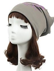 Women Men Beanie Hat Note Five Print Baggy Hip-Hop Cool Dance Cap Headwear