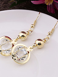 Crystal Globe fashion personality earring earring jewelry