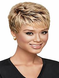 mujeres de la señora europeo corto elegante ola syntheic pelucas venta caliente