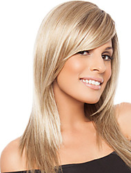 Graceful Virgin Remy Capless Human Hair Hand Tied-Top Long Silky Straight Woman's Wig