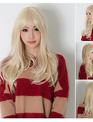 Beauty Wigs Top Quatity Blonde Color Synthetic Wigs