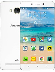 "Lenovo A5600 White 5.5""IPS Android 5.1 LTE Smartphone(Dual SIM,WiFi,GPS,Quad Core,RAM1GB +ROM8GB,8MP,3000mAh Battery)"