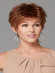 Shrewdly Syntheic Wig High Quality  European Lady Women Wave  Wigs
