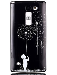 Dandelion Pattern TPU Phone Case for LG Leon  H340N/LG Spirit H422/Magna H502