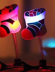 6.3*5CM Christmas Christmas Party Show Moe Artifact Light-Emitting Clip On Christmas Eve LED Lamp 1PC