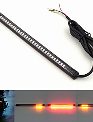 Multifunction Universal 12V Motorcycle Tail Brake Stop Turn Signal License Plate Light Integrated 3258 32LED Light Strip